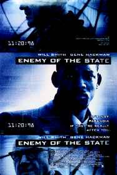 ENEMY OF THE STATE ORIGINAL CINEMA POSTER