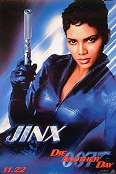 DIE ANOTHER DAY (Single-sided Advance JINX) ORIGINAL CINEMA POSTER