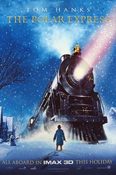 THE POLAR EXPRESS (Double Sided Advance Imax) ORIGINAL CINEMA POSTER