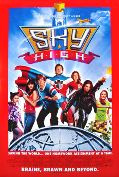 SKY HIGH (Double Sided Regular) ORIGINAL CINEMA POSTER