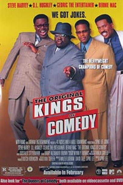 THE ORIGINAL KINGS OF COMEDY (Video) ORIGINAL VIDEO/DVD AD POSTER