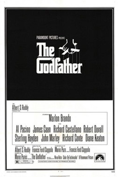THE GODFATHER (Reprint) REPRINT POSTER