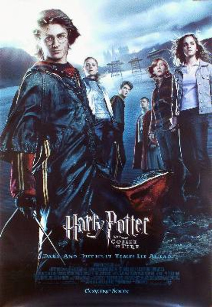HARRY POTTER AND THE GOBLET OF FIRE (Regular Reprint) REPRINT POSTER