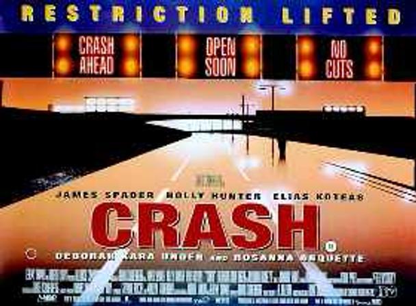CRASH (Single Sided) ORIGINAL CINEMA POSTER