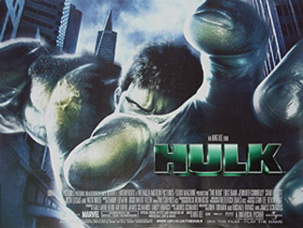 THE HULK (Regular) (Single Sided) ORIGINAL CINEMA POSTER