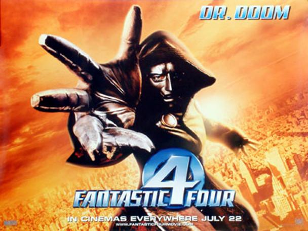 FANTASTIC FOUR (Dr Doom) (Double Sided) ORIGINAL CINEMA POSTER