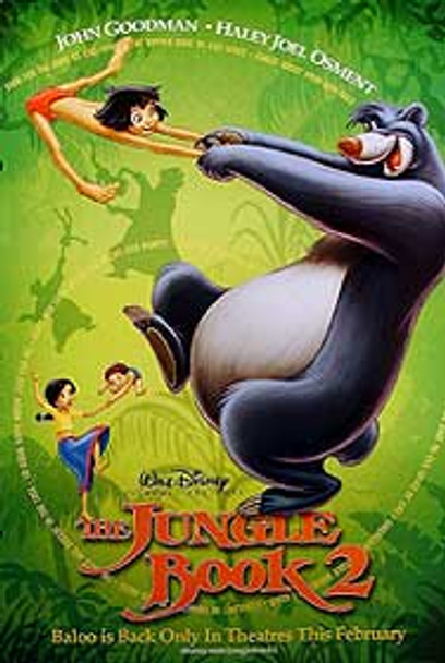 THE JUNGLE BOOK 2 (Double Sided Advance) ORIGINAL CINEMA POSTER