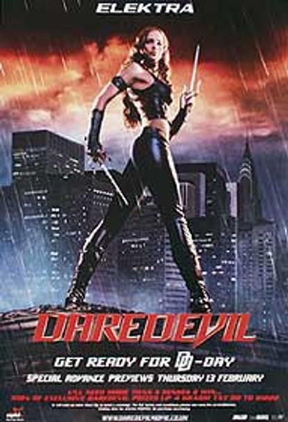 DAREDEVIL (ELEKTRA) (SINGLE SIDED) ORIGINAL CINEMA POSTER
