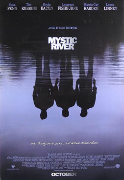 MYSTIC RIVER (Single Sided Advance Style A) (UV Coated/High Gloss) ORIGINAL CINEMA POSTER