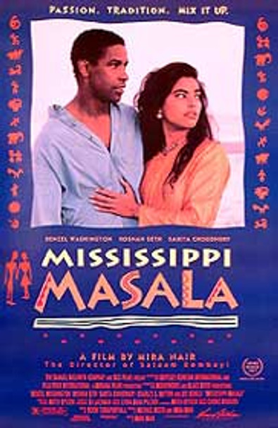 MISSISSIPPI MASALA (SINGLE SIDED) ORIGINAL CINEMA POSTER