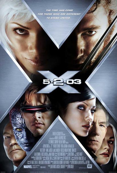 X2 (Single Sided Regular Style B) ORIGINAL CINEMA POSTER