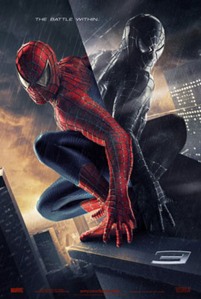 SPIDER-MAN 3 (Double Sided Advance Style B) ORIGINAL CINEMA POSTER