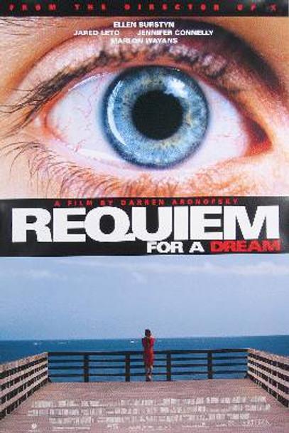 REQUIEM FOR A DREAM (Single Sided Regular) ORIGINAL CINEMA POSTER