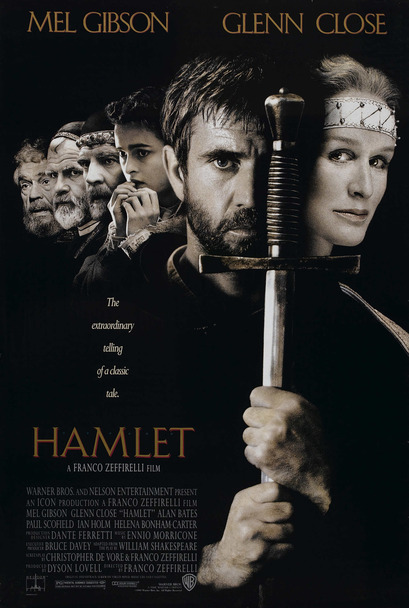 HAMLET ORIGINAL CINEMA POSTER
