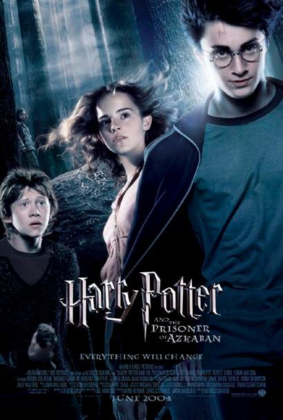 Harry Potter And The Prisoner Of Azkaban (Ds Intl Style B) Original Cinema Poster