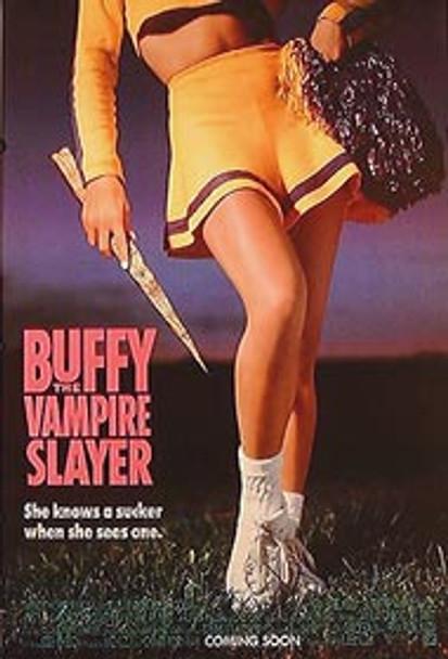 BUFFY THE VAMPIRE SLAYER (Single Sided Advance) ORIGINAL TV POSTER