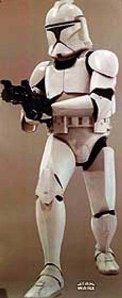 STAR WARS EPISODE 11 - ATTACK OF THE CLONES (Clone Trooper) (Lifesize) ORIGINAL CINEMA POSTER
