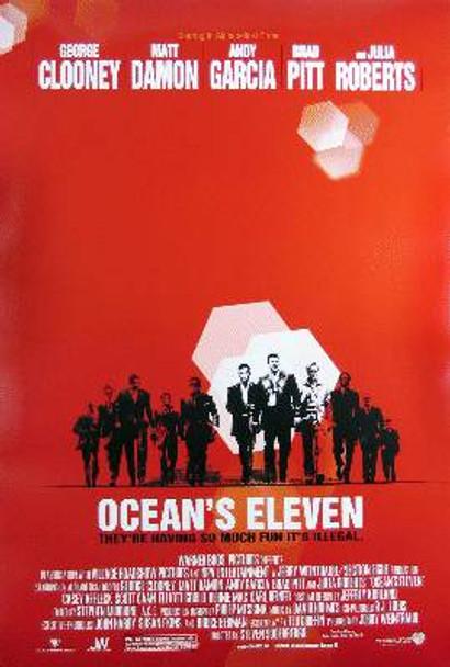 OCEAN'S ELEVEN (Double Sided Regular) ORIGINAL CINEMA POSTER