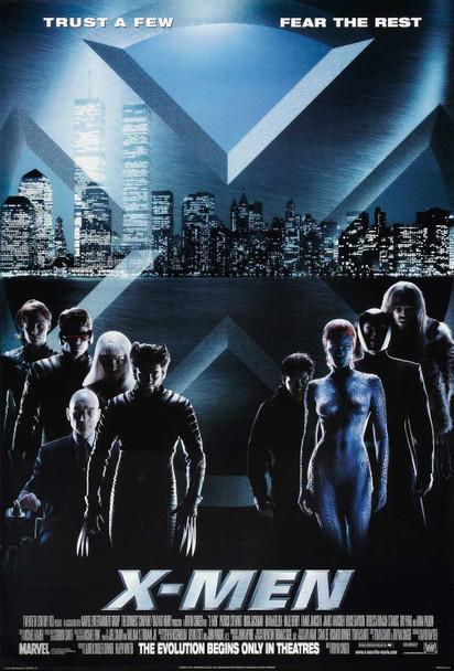 X-MEN (Single Sided International Style D) ORIGINAL CINEMA POSTER