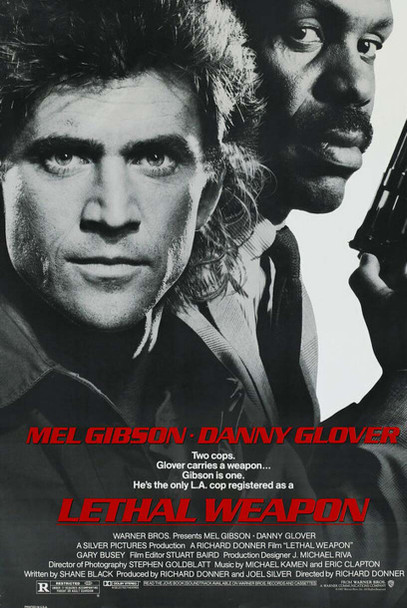Lethal Weapon Single Sided Movie Poster