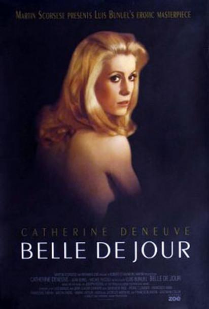 BELLE DE JOUR (Double Sided Regular Re-release) ORIGINAL CINEMA POSTER
