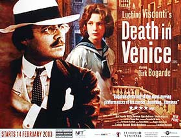 DEATH IN VENICE (Re-Release) (SINGLE SIDED) ORIGINAL CINEMA POSTER