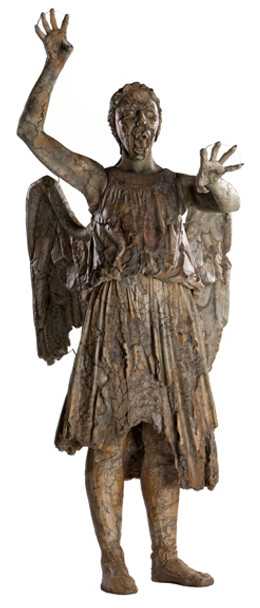 Regenerating Weeping Angel (Attacking) - BBC Doctor Who / Dr Who / Dr. Who - Lifesize Cardboard Cutout /  - Lifesize Cardboard Cutout / Standee