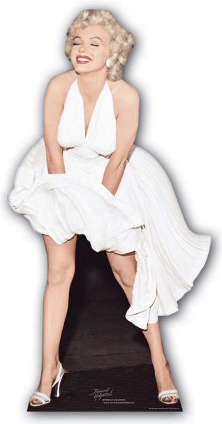 Marilyn Monroe Classic White Dress Blowing Up cardboard cutout