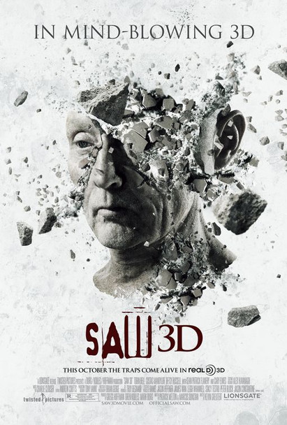 SAW 3D (Head) Poster