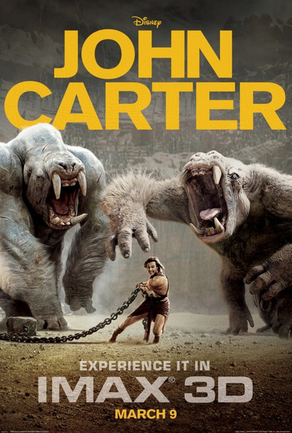 JOHN CARTER (IMAX) Poster