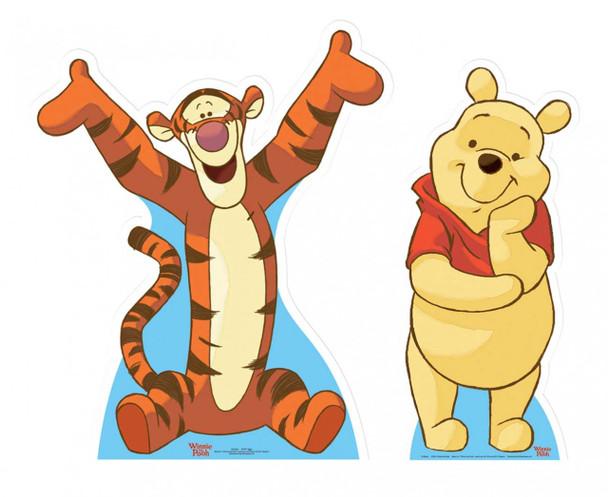 Winne The Pooh & Tigger Cutout Set