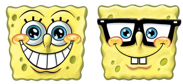 Spongebob Face Mask Set of 2