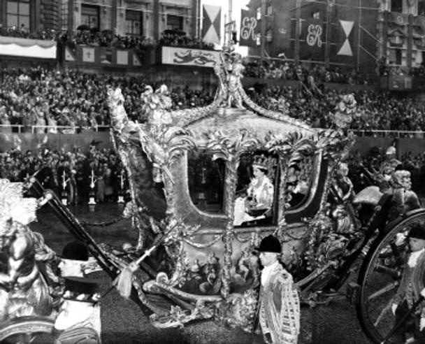 (SS2252185) Queen Elizabeth II Coronation Photo