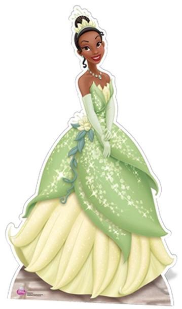 Princess Tiana Cutout