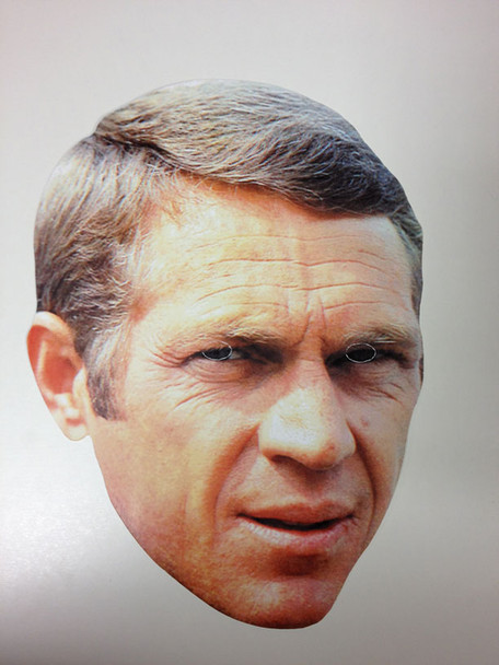 Steve McQueen Face Mask