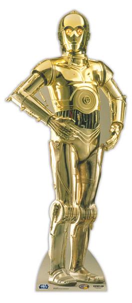 C3PO Star Wars Cardboard Cutout