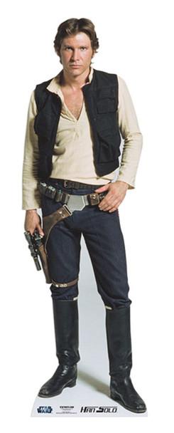 Han Solo Star Wars Cardboard Cutout