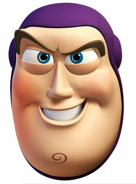 Buzz Lightyear Face Mask