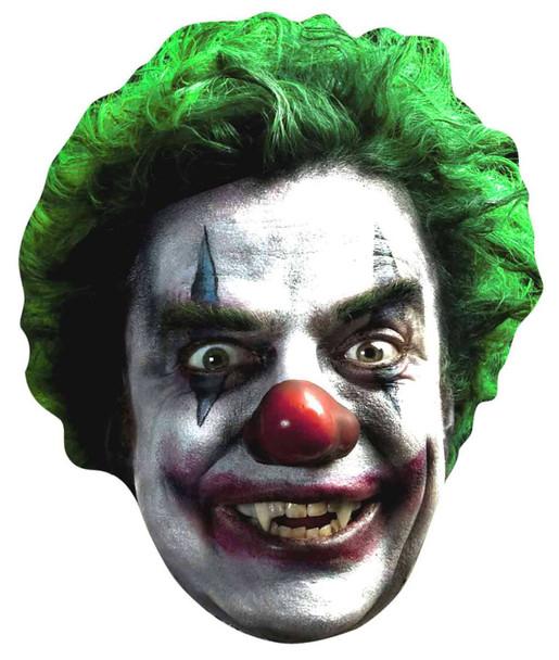 Evil Clown Halloween Face Mask