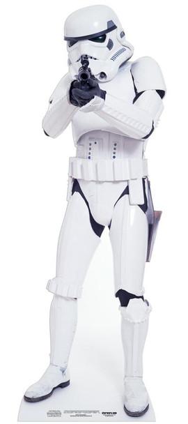 Stormtrooper Star Wars Lifesize Cardboard Cutout / Standee