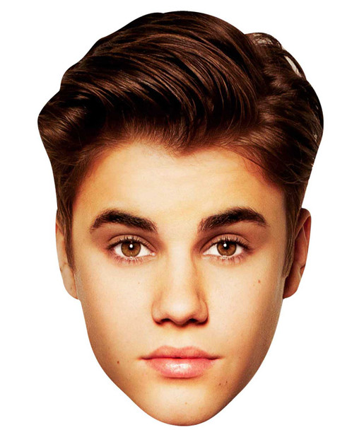 Justin Bieber Party Face Mask