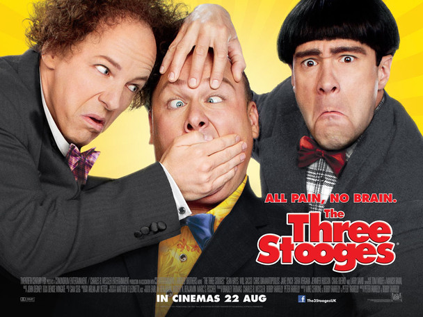 THE THREE STOOGES Poster (Quad)
