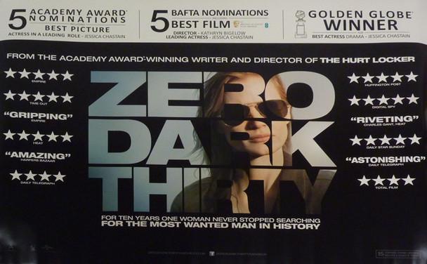 ZERO DARK THIRTY Poster Awards Style (Quad)