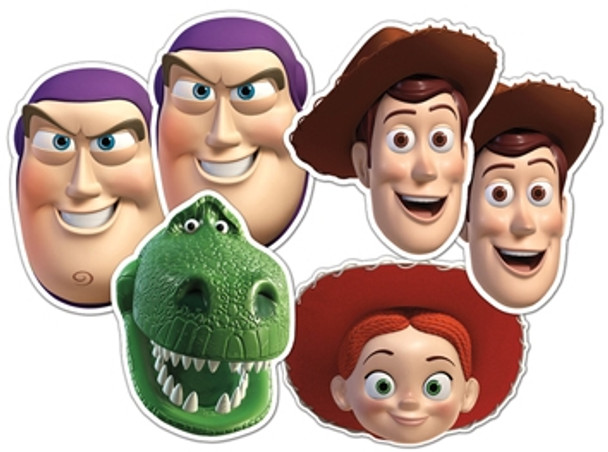 Toy Story Face Masks Set of 6