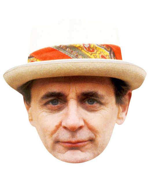 Sylvester McCoy Doctor Who Face Mask (The Seventh Doctor)