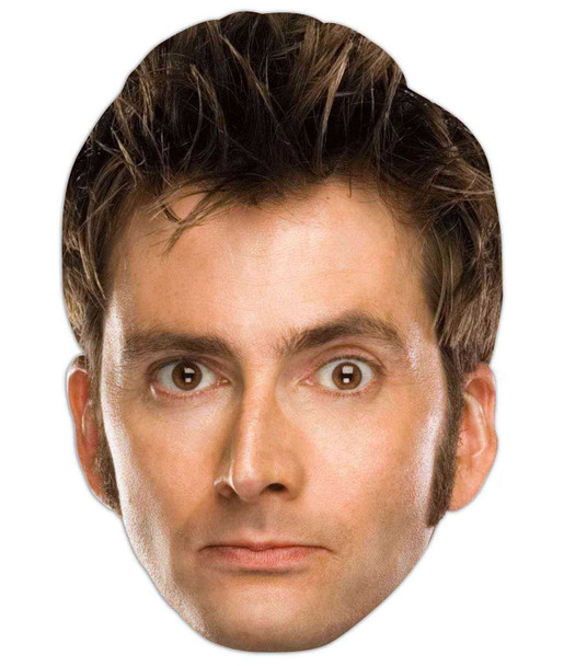 David Tennant Doctor Who Face Mask (The Tenth Doctor)