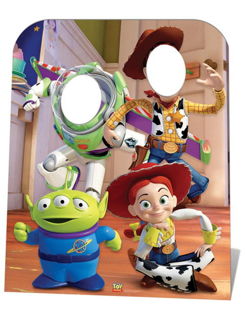 Toy Story Stand-in (Child Size) Lifesize Cardboard Cutout
