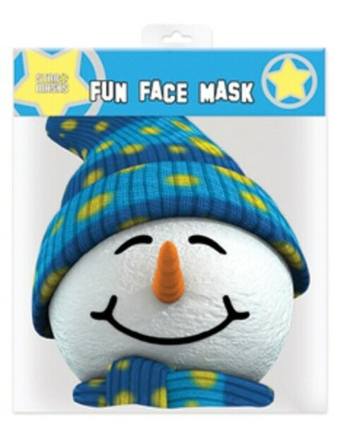 Snowman Christmas Party Face Mask