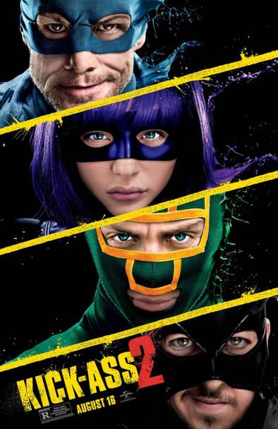 Kick-Ass 2 Original Movie Poster