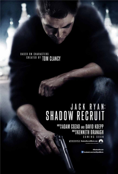 Jack Ryan: Shadow Recruit Original Movie Poster